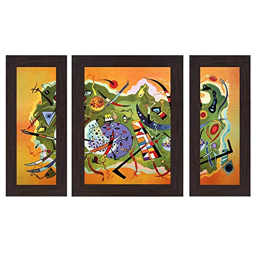 Wens 'Fusion Dress' Wall Art (MDF, 30 cm x 34 cm x 1.5 cm, WSP-4274)