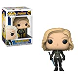 Funko- Pop Bobble Marvel Avengers Infinity War Black Widow Statua Collezionabile, 26468