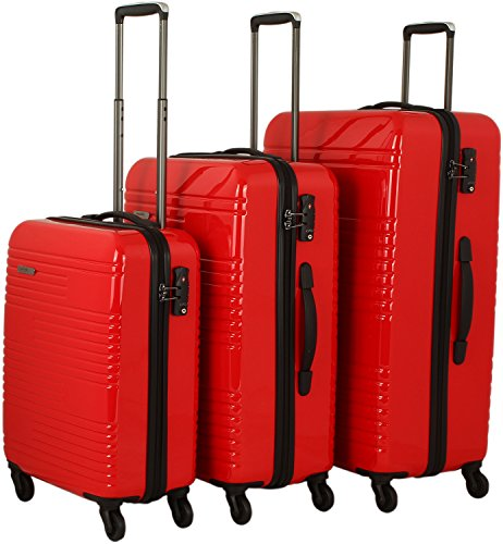 travelite Groovy 4-Rad Trolley-Set 3-tlg 04 anthrazit - 2