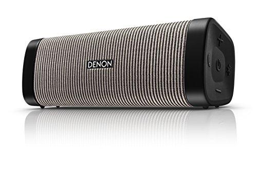 Denon Envaya Bluetooth Lautsprecher (IP67-klassifiziert, 13h Akku) grau