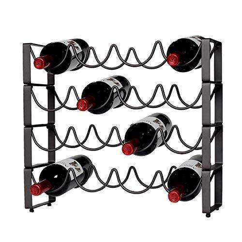 Cantinetta Portabottiglie Vino Armadio Supporto Bar Bottiglia di vino Decorazione Ferro battuto...