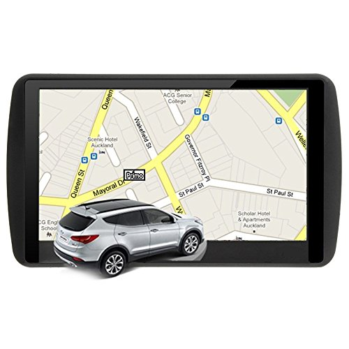 Leoie 7 inch LCD Touch Screen Car GPS Navigation 8GB ROM 256MB RAM MP3 MP4, Free Lifetime Updated Map, Optional Other Countries