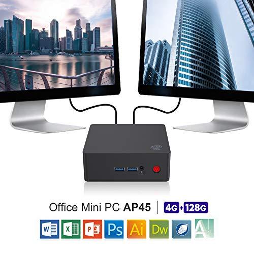 SeeKool AP34 Pro Mini PC, Windows 10 MINI Computer,Intel Apollo Lago N3450 Processore HD Graphics...