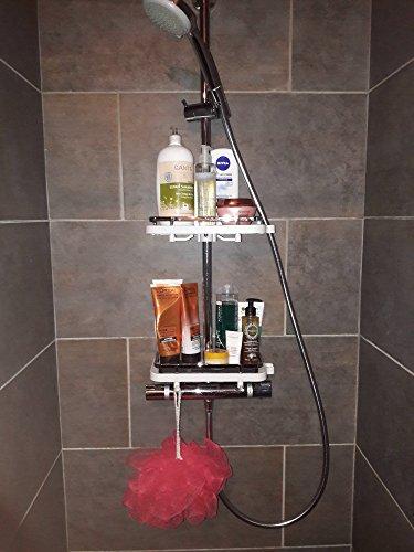Étagère De Rangement Pour Douche Tablette Porte Savon Ou Shampoing - Porte savon pour douche