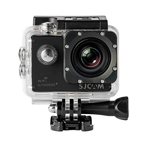 """SJCam SJ4000 Plus (versión española) - Videocámara deportiva (WiFi integrado, LCD 1.5"""", 1080p 30 fps, sumergible hasta 30 m) color negro"""