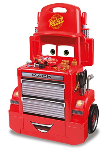 Smoby- Cars 3 Mack Truck Trolley, 7600360208