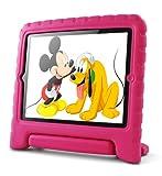Lavolta Soporte Antichoque Forro Infantil Funda protectora para Apple iPad 2 / iPad 3 / Nuevo iPad Retina - Rosa