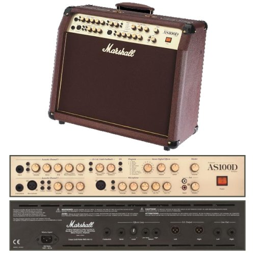 Marshall Amplification AS100D - 100 Watt Acoustic Guitar Amplifier