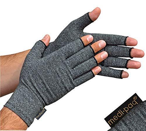 Guanti Anti-Artrite Medipaq (Paio) - Provvedono al calore e compressione per aiutare a aumentare la...