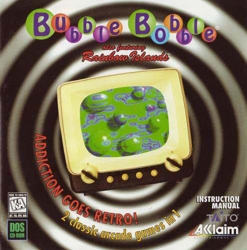 Bubble Bobble (auch mit Regenbogeninseln)