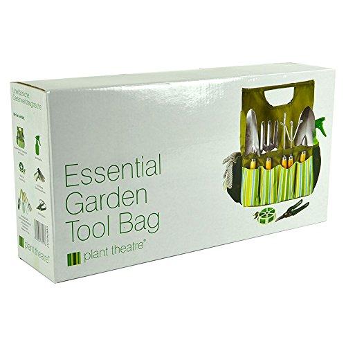 Plant Theatre Bolsa esencial de herramientas de jardín - Incluye ... b83b231c687b