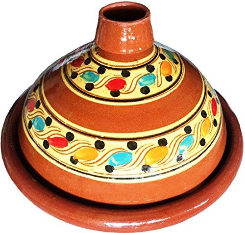 marocstore, pentola ideale per cucinare il piatto tipico marocchino tajine, diametro di 35 cm, per...