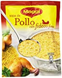 Maggi - Sopa de Pollo con Fideos Finos - 82 g - [Pack de 18]