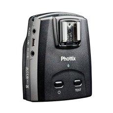 Phottix 89067 - Disparador de Flash Remoto, Receptor para Nikon, Color Negro