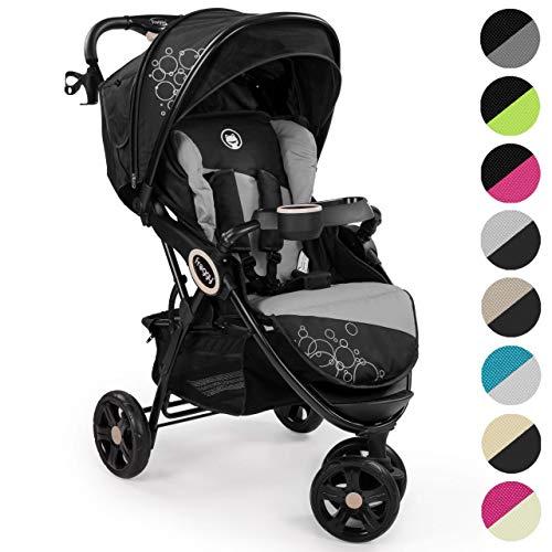 Froggy Passeggino per bambini DINGO Passeggino Buggy Jogger ultraleggero cintura di sicurezza a 5 punti compatto ripiegabile funzione lettino parasole