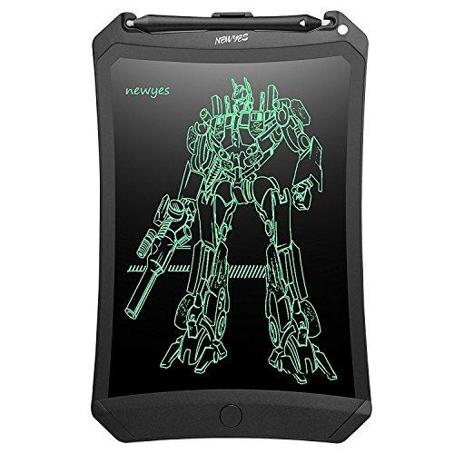 NEWYES Tablet di Scrittura LCD Robot, 8,5 Pollici (lunghezza), Vari Colori(nero)