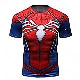 Cody Lundin Hombres de compresión y Fitness Ropa Deportiva T-Shirt,3D superhéroe Superpersona...
