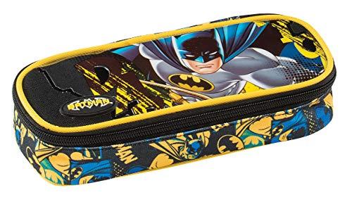 Graffiti Batman Astuccio, 22 cm, Nero (Black)