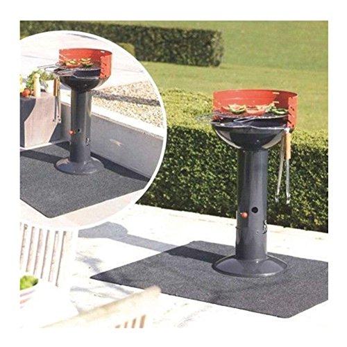 Tappeto Di Protezione Barbecue, Tappetino Per Grill di Pavimento per Barbecue BBQ Camino Campeggio...