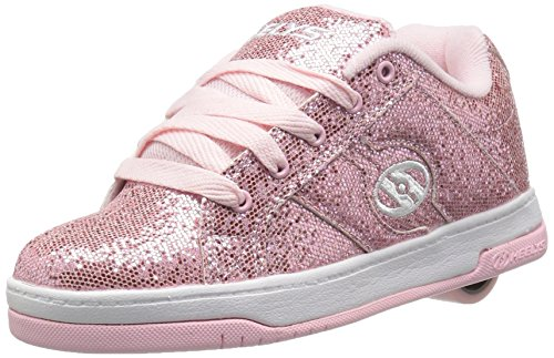 Heelys Split, Zapatillas Unisex Niños, Varios Colores (Light Pink Disco Glitter), 36.5 EU