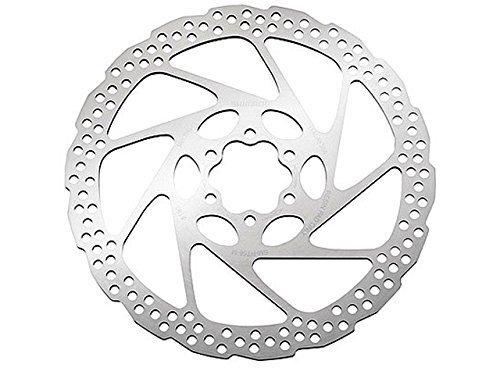 Shimano Disco freno Deore SM-RT56 Disco freno 6 fori, Argento (silber), M, 180 mm