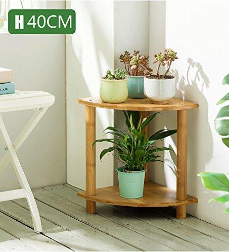 LXLA- combinazione settore balcone Vaso di fiori Stand interno in legno massello Multistrato...