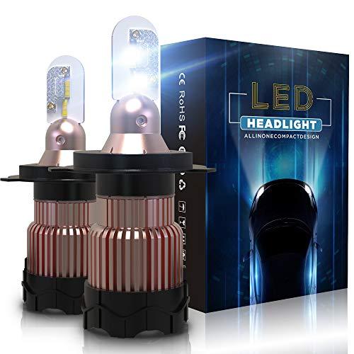 Aolead Lampadine H4 LED 10800LM Auto Fari Sostituzione per Alogena e Xenon Luci, CSP Super Luminosa...