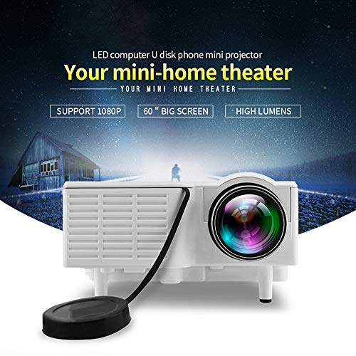 Tecbasket UC-28 Mini LED Projector