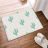 Alfombra Cactus Con Flores En Sus Puntas Antideslizante
