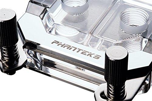 Phanteks Waterblock CPU pour LED RVB Base en cuivre nickelé Acrylique Coque Chrome-Ph-c350a Cr01 23