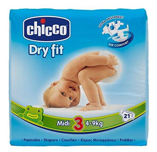 Chicco Dry Fit-Midi-Pannolini, confezione Maxi
