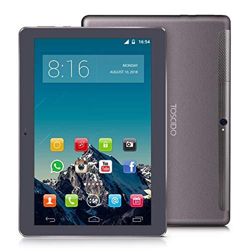 TOSICDO 4G LTE Tablet 10 Pollici - Android 9.0 Certificato da Google GMS,4GB+32GB,Octa Core 2GHz CPU...
