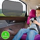 TopElek 3 Pezzi Parasole Auto per Bambini, Tendine Parasole per Auto -...