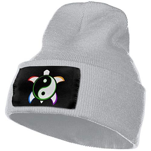 NAA Yin Yang - Turtle Women & Men Knit Beanie Hat Soft Ski Skull cap Design 6229