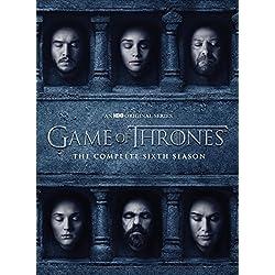 Game Of Thrones: The Complete Sixth Season (5 Dvd) [Edizione: Regno Unito] [Reino Unido]