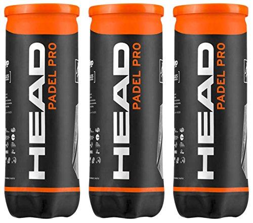 Head Padel Pro WPT - Confezione da 3tubi di palline da paddle