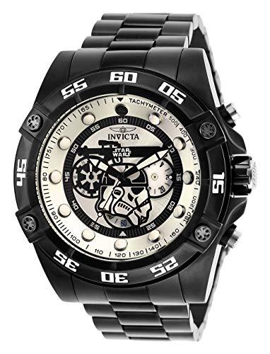 Invicta 26515 Star Wars - Stormtrooper Herren Uhr Edelstahl Quarz weißen Zifferblat