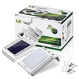 LE® 4er Pack LED Solarleuchte mit Bewegungsmelder