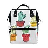 Bolsa de Pañales con Diseños de Cactus