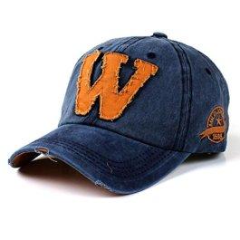 Cappellini con Visiera da Baseball Hip-Hop Unisex,Elecenty Estivi Le Lettere W Fanno Il Vecchio Cappello
