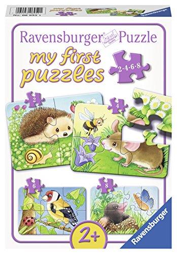 Ravensburger 06952 - Puzzle, 2,4,6,8 Pezzi