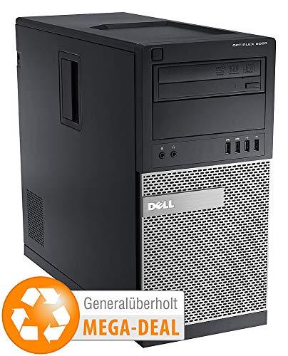 Dell OptiPlex 9020 MT, Core i7, 16 GB, 256GB SSD (generalüberholt, 2. Wahl)