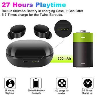 Auricular-Inalmbricos-Bluetooth-50-moosen-IPX7-Impermeable-27H-Playtime-AAC-80-CVC-80-Cierto-Auriculares-Inalmbricos-con-Hi-Fi-Graves-Profundos-Sonido-Estreo-Control-Tactil-Estuche-de-Carga