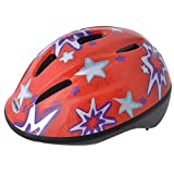 Oxford Little Explorer Red Stars Bike Helmet Size 46 53 Centimeter