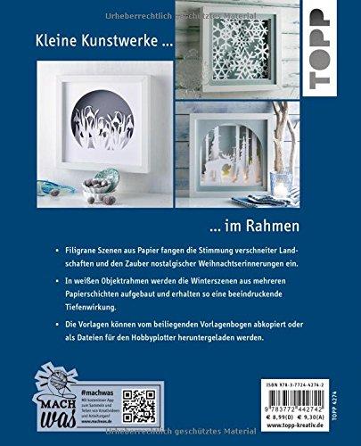 Winterliche-Papierszenen-im-Rahmen-kreativkompakt-Filigrane-Motive-edel-beleuchtet-Mit-Vorlagen-in-Originalgre-und-Plotterdateien-zum-Download