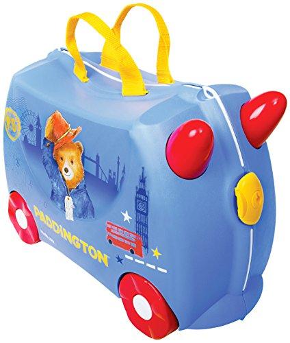 Trunki Valigia Cavalcabile Per Bambini: Il Orso Paddington (Blu)