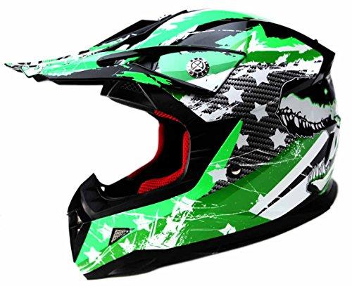 Cascos de moto baratos YEMA Casco Motocross Niño ECE Homologado YM-21