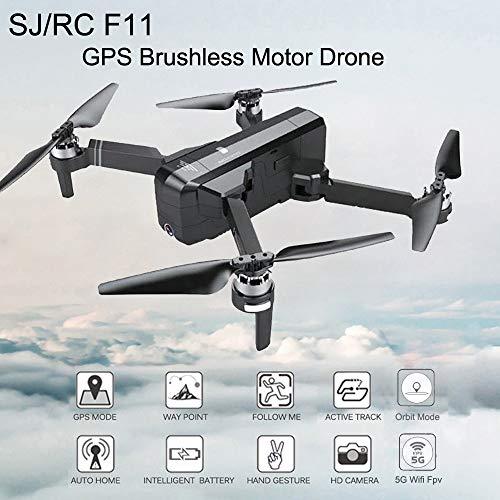 Igemy drone zaino da viaggio borsa per il trasporto, borsa impermeabile zaino per Sjrc F115g...