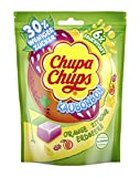 Chupa Chups Kaubonbon Sommer-Früchte, 7er Pack Bonbons, Orange + Erdbeere + Zitrone