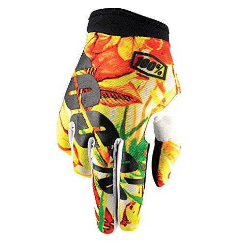 100% guanti iTrack Paradise Motocross–colore giallo arancione